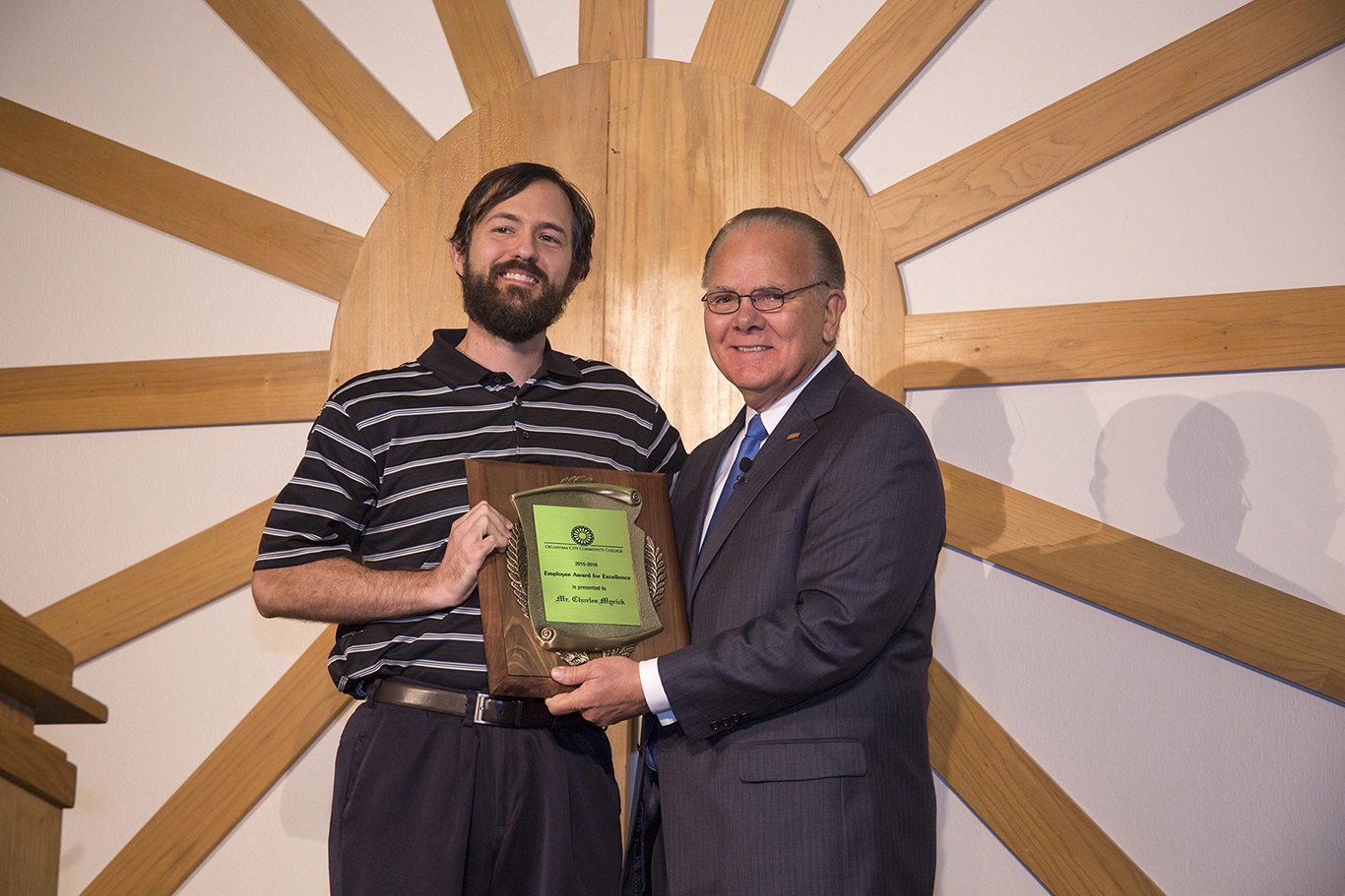 Employees recognized at annual award ceremony