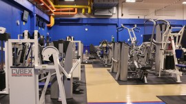 Gleaming machines and equipment await fitness enthusiasts in OCCC Wellness Center. Tyler Adams/Pioneer