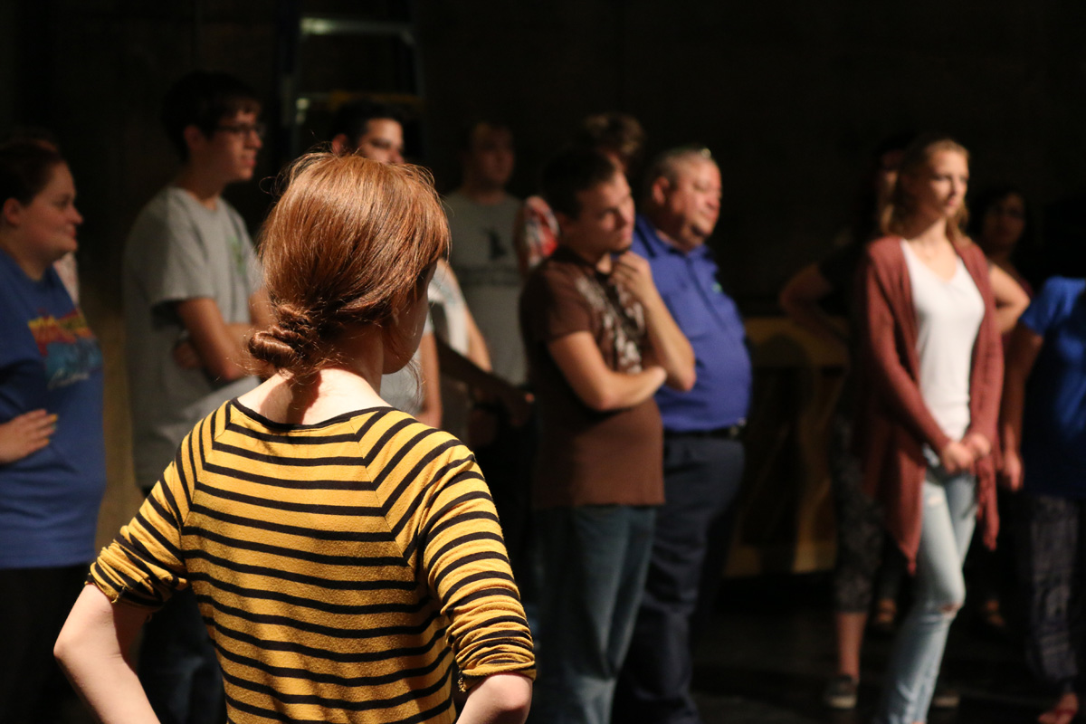 OCCC and USAO students audition together for upcoming performances