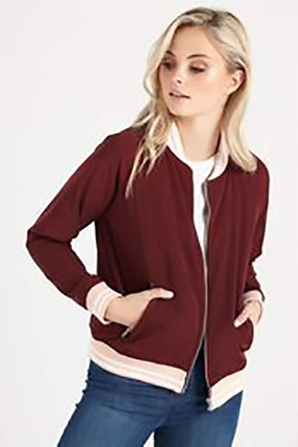 Retro looking jackets are back in this Fall