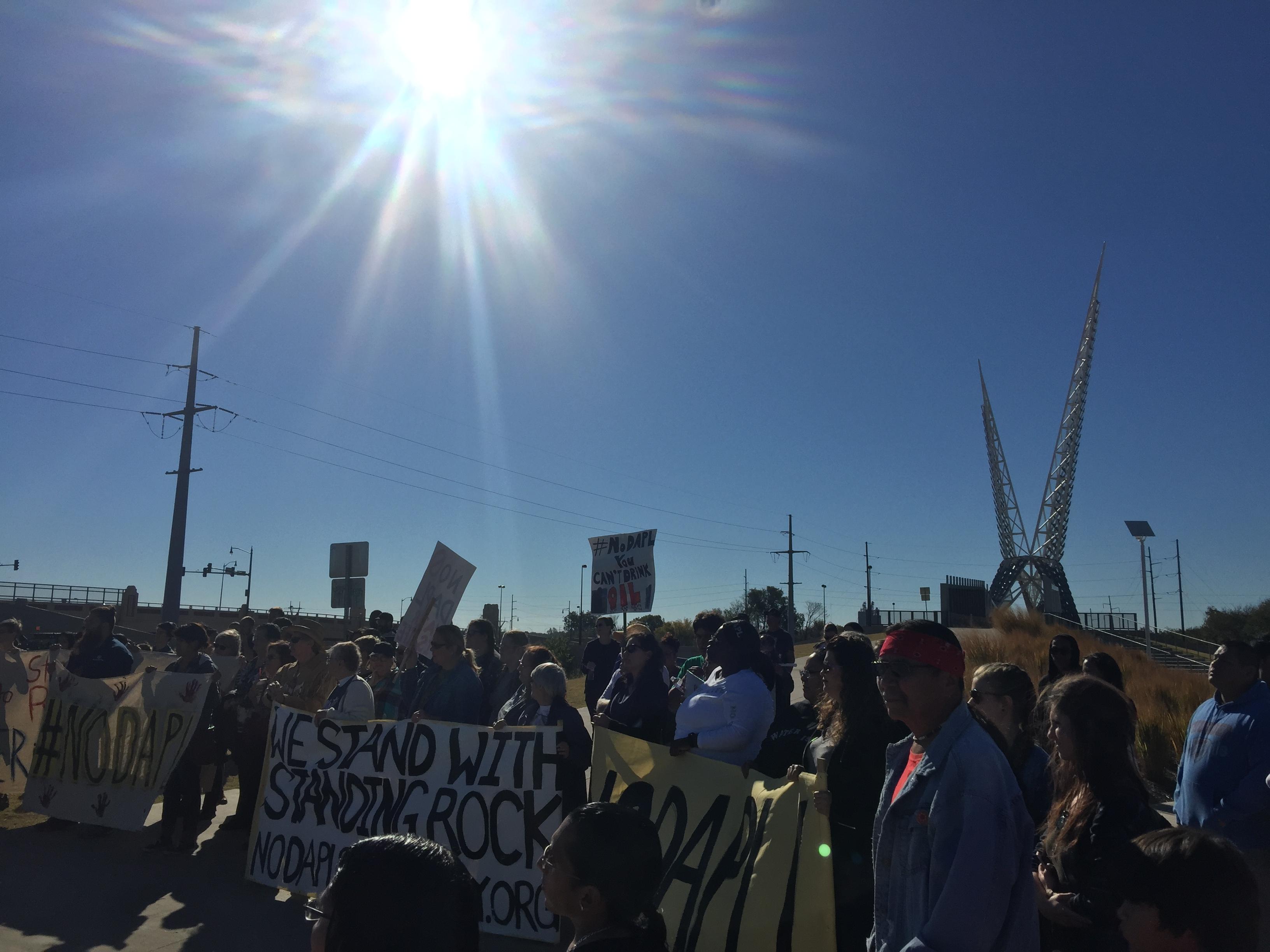 NoDAPL OKC protest