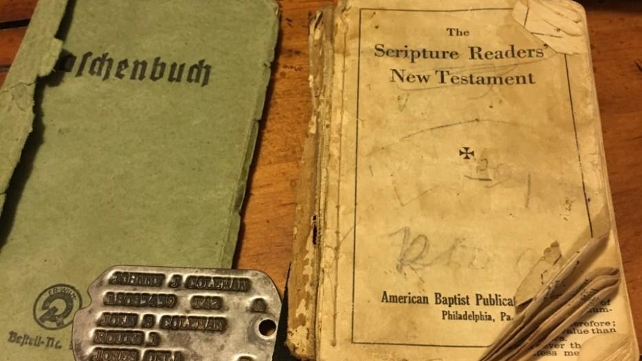 Dusty shoebox reveals WWII love story