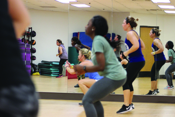 Spring sports and group fitness classes scheduled