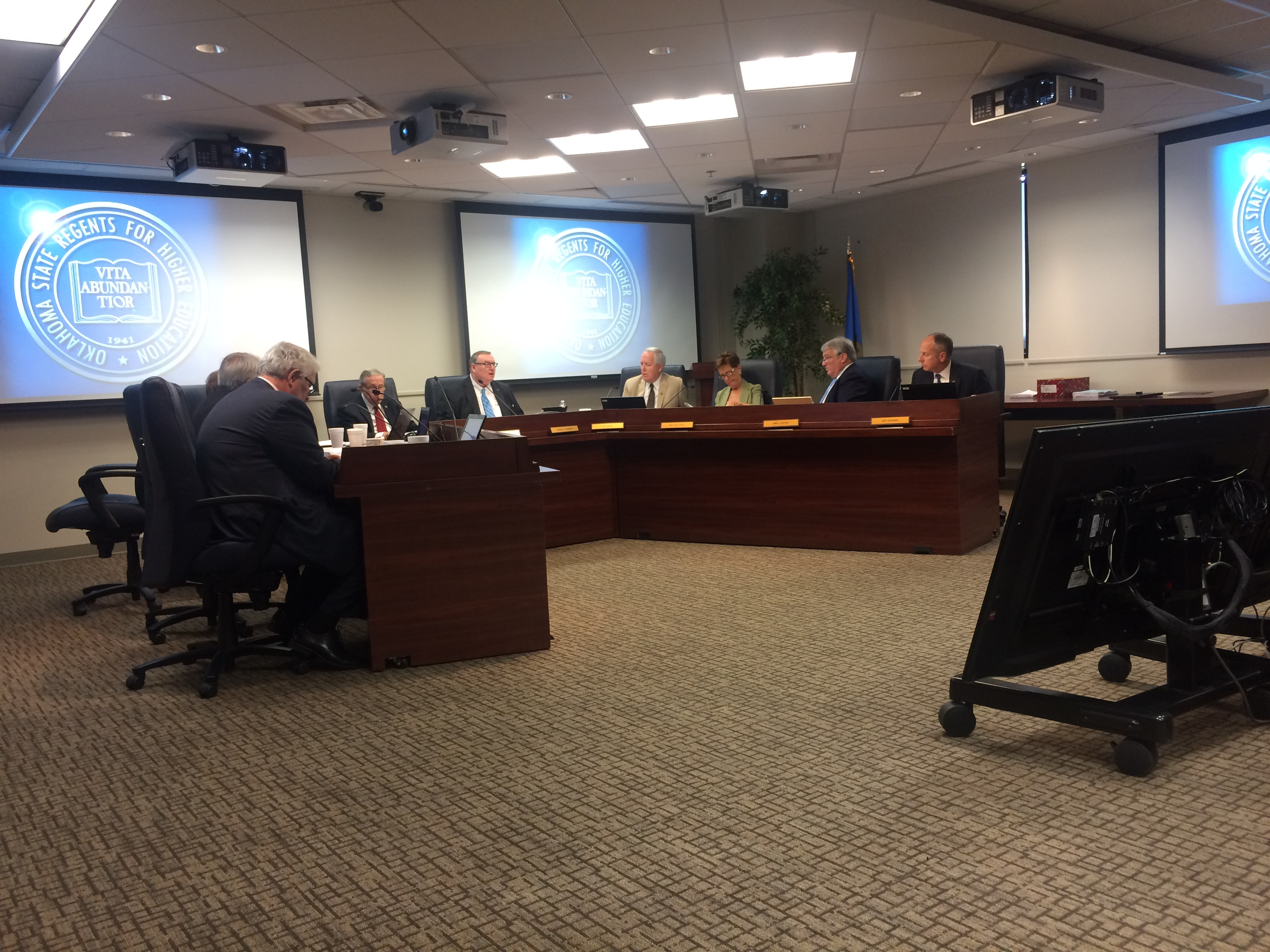 State Regents Meeting Saw Delays Over New Budget