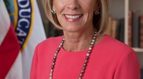 Federal Education Secretary Betsy DeVos. Photo provided by whitehouse.gov