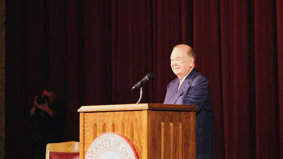 OU President David Boren Retires