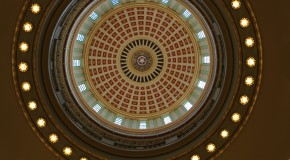 The dome of the Oklahoma Capitol. Photo by Cici Simon