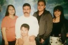 Sanchez family portrait before the shooting. Photo provided by Maria Garcia/