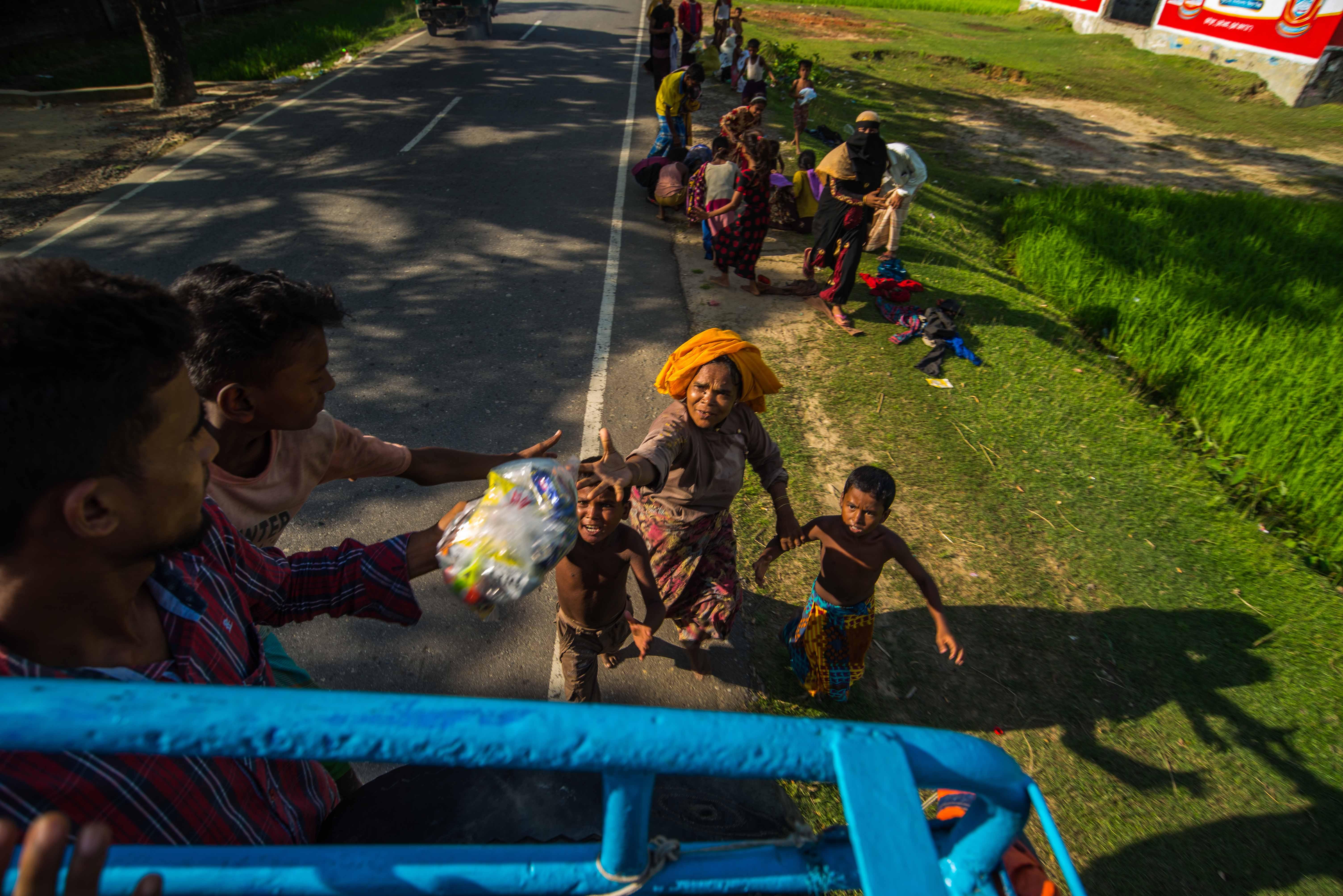 Myanmar: They Ran Begging, Screaming For Food
