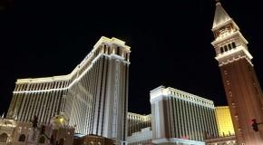 Las Vegas Strip at night. Photo by canva.com