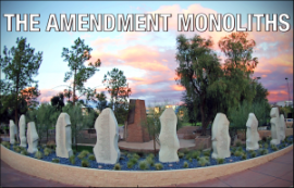 The Arizona Bill of Rights Monument. Photo from mybillofrights.org