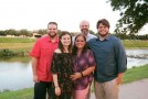 The King family from left, Walter(in red), Joel, and Nicholas. Front, from left, Natalie and Erica