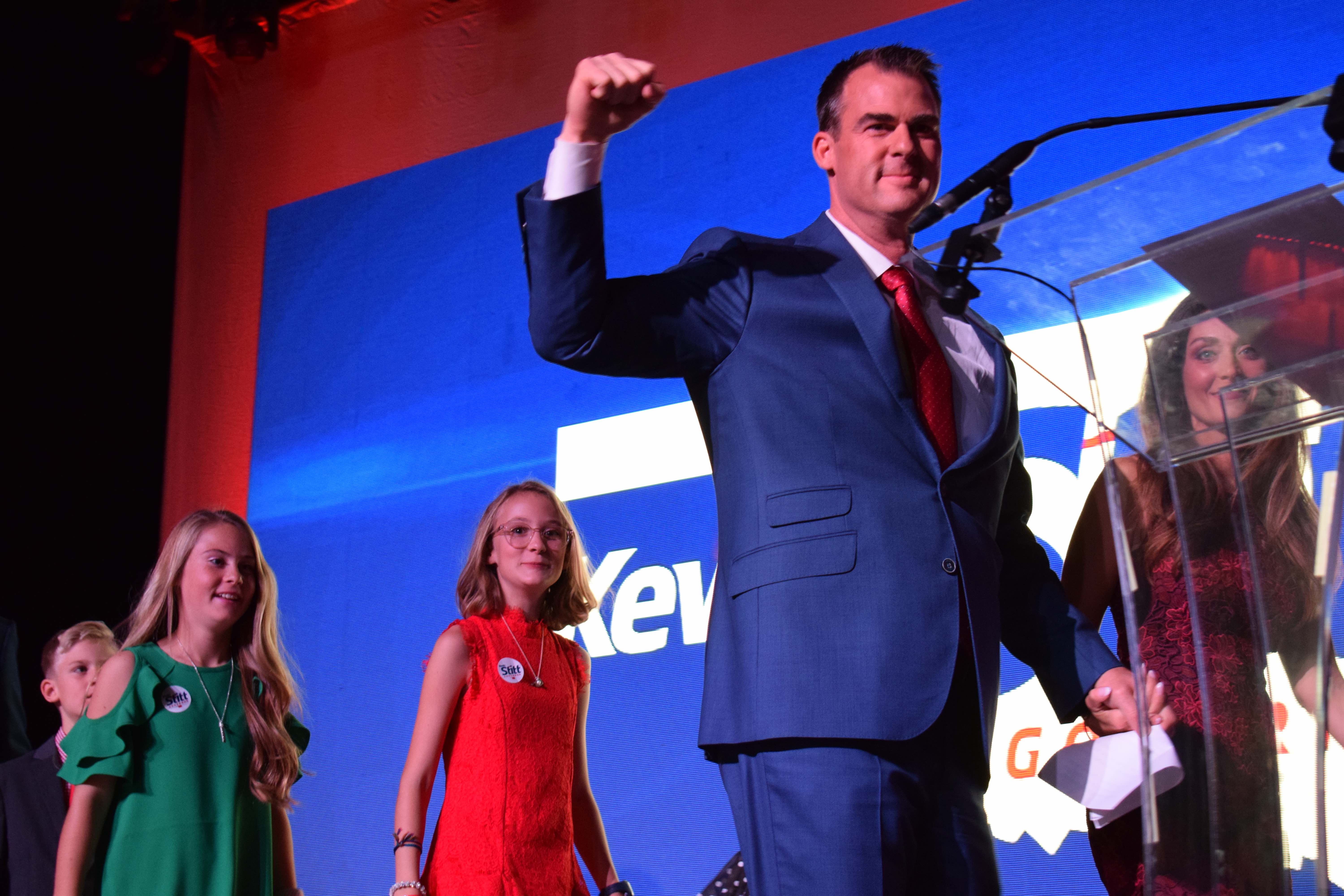 Stitt Takes Governor's Seat; Horn Defeats Russell
