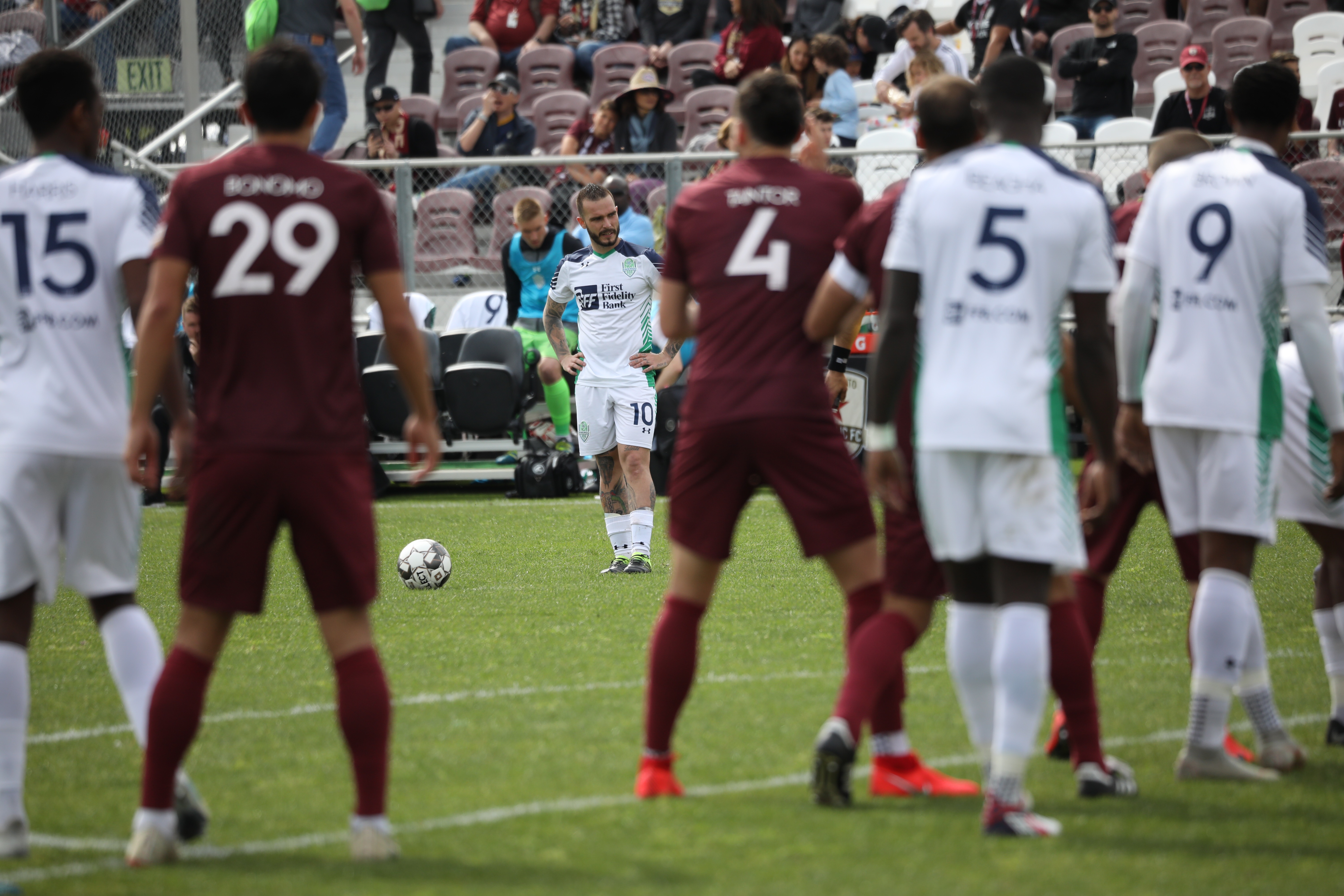 OKC Energy FC Suffer First Defeat, Fall 4-1 at Sacramento Republic FC