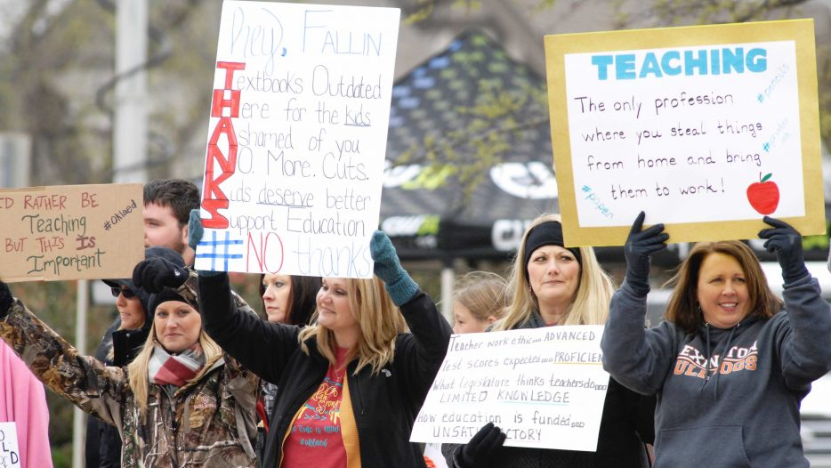Months After The Teacher Walkout, Teachers Say There IS Still More to be Done