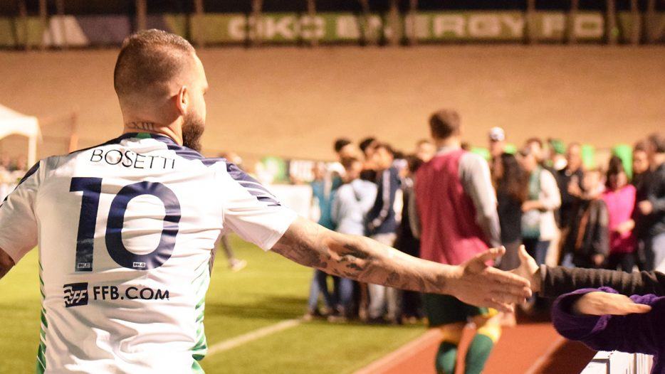 Energy FC Holds On To Beat Switchbacks FC 1-0