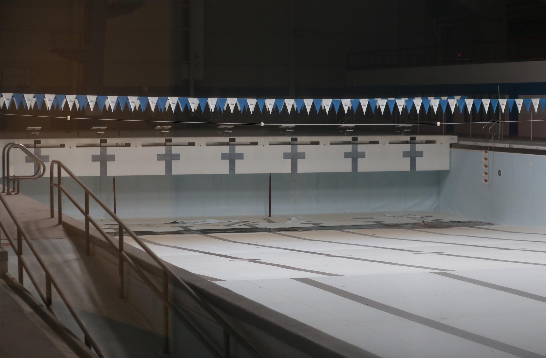 New police headquarters, repurposed pool area top 2020 college goals