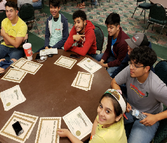 2019 Upward Bound students take home awards, knowledge