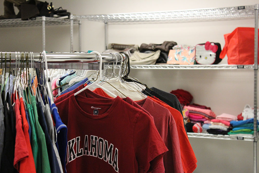 Students Go Into Closet for No-Cost Fall Fashion