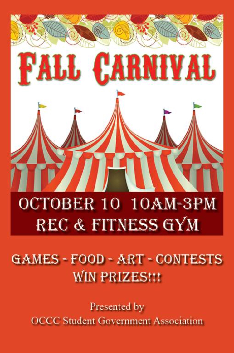 Fall Carnival Coming to OCCC