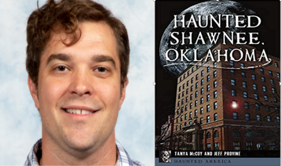 "Professor author releases ""Haunted Shawnee"" book, will hold spooky discussion Oct. 26"