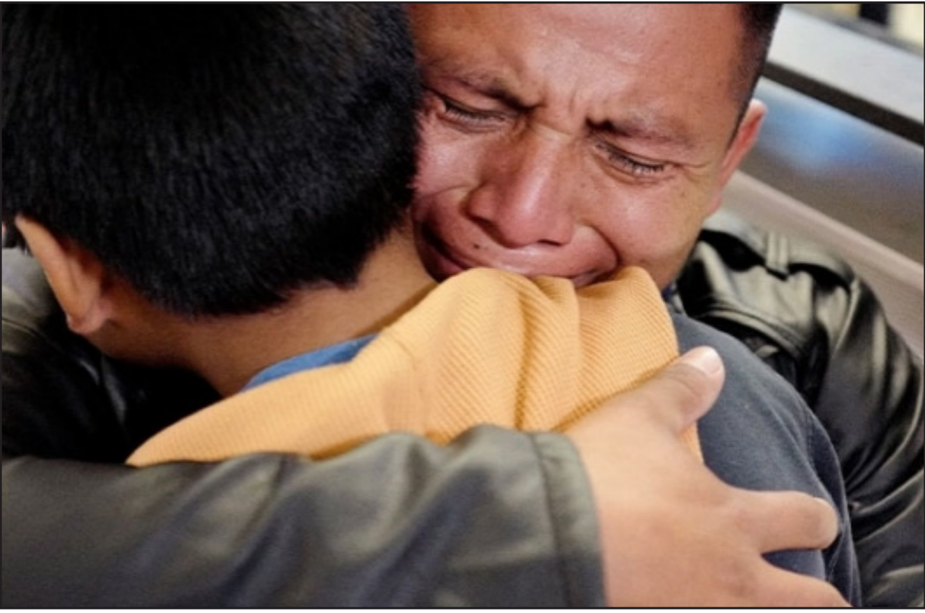 Hundreds of migrant children still not united with families