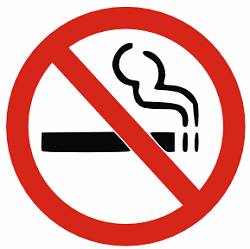 No-smoking policy often ignored on campus