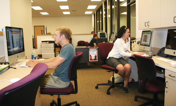 Student newspaper moves to new digs