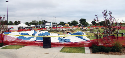 Tent collapse injures eight, shuts down Arts Festival Oklahoma