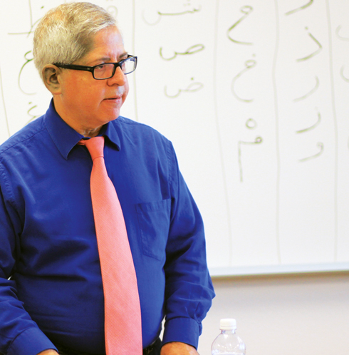 Former broadcaster enlightens students