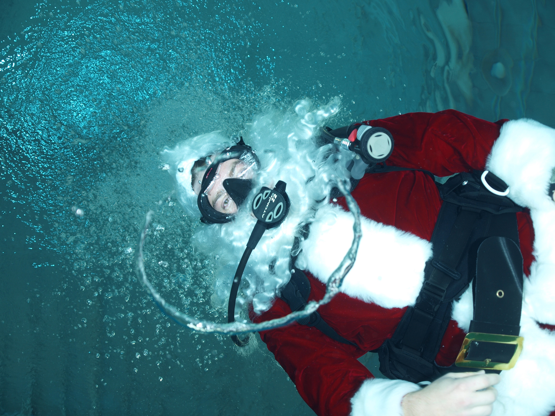 Santa, scuba divers to visit OCCC tonight