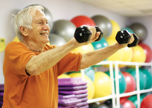 Man has stayed fit at OCCC for 29 years