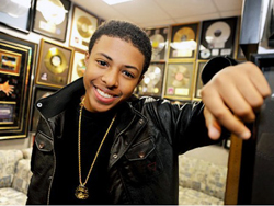 Diggy Simmons lives up to his name