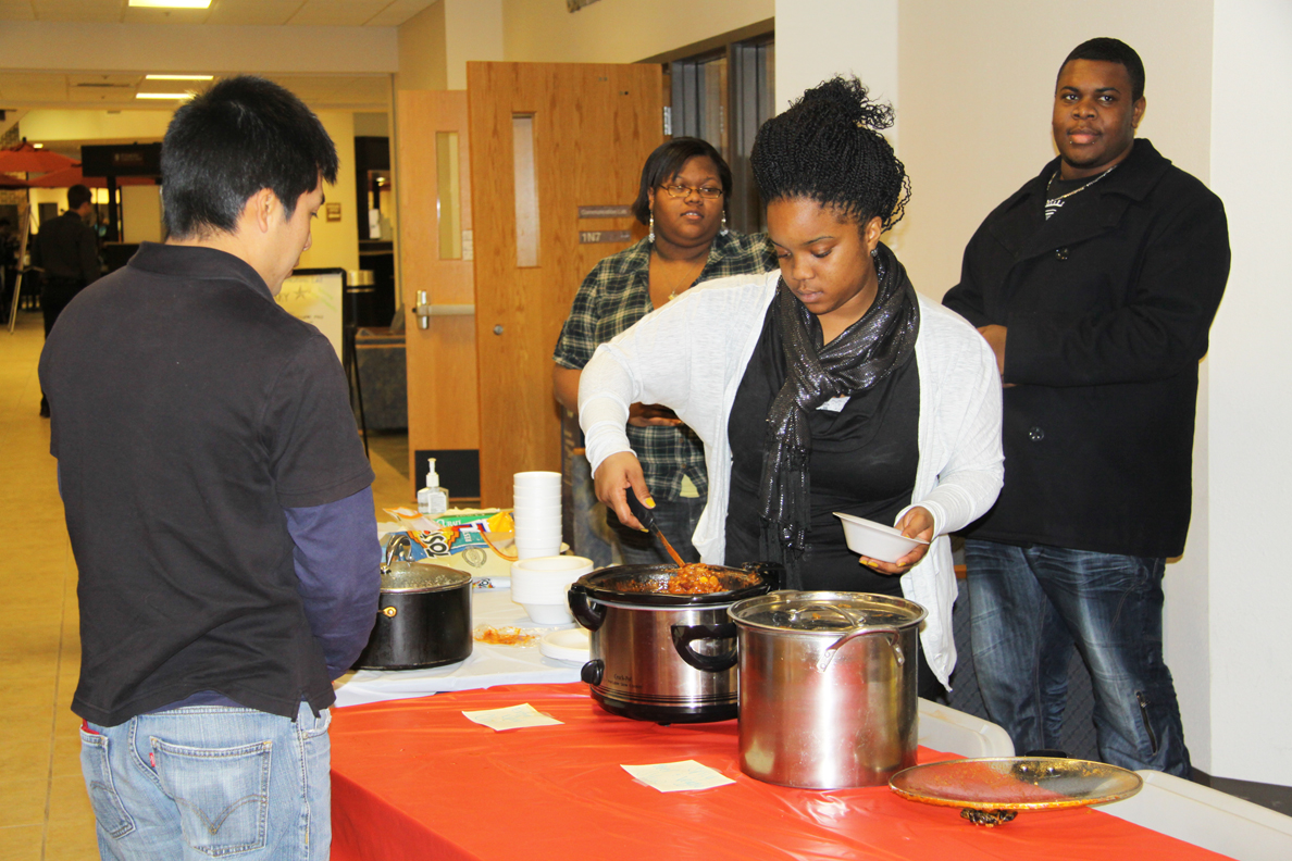 BSA hosts chili and bake sale