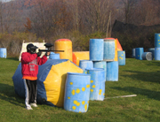 Paintball offers variety to active students