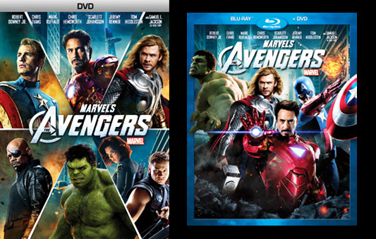 Disney fails with 'Avengers' DVD release