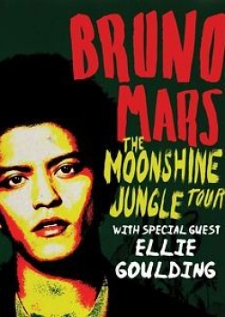 Bruno Mars owns Moonshine Jungle tour