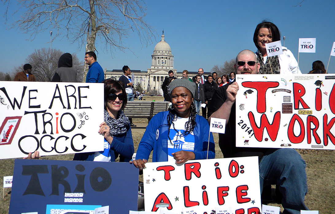 TRiO students show Capitol leaders their importance