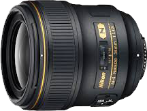 Nikon lens simple; great for starting photographers