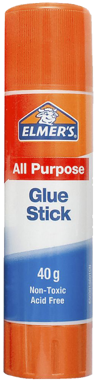 Elmer's glue stick an affordable 'stache wax