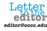 Letter to the editor banner