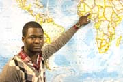 Student plans to return to Africa some day