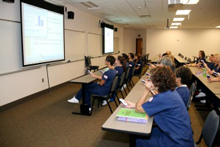 Sessions allow students to explore health care majors