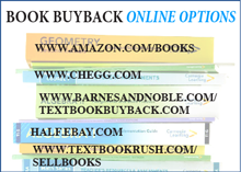Students have numerous options for selling textbooks