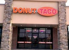 Donut Taco store front