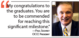 Paul Sechrist message to graduates