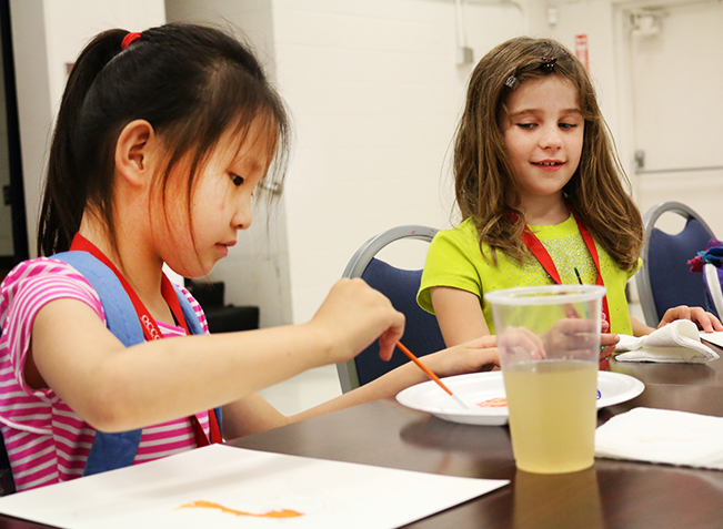 CSI, painting and more learned at summer camps