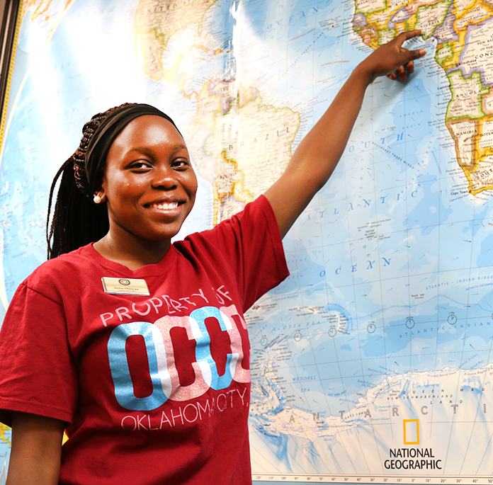 Nigerian student lives for helping others