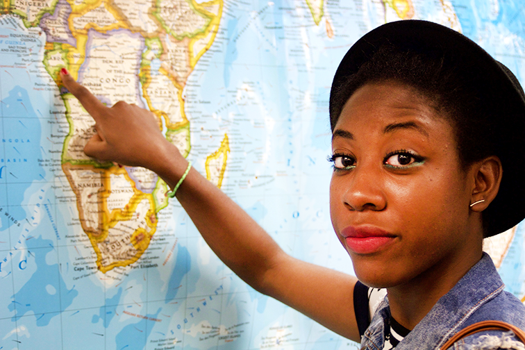 African student plans career in gas and oil
