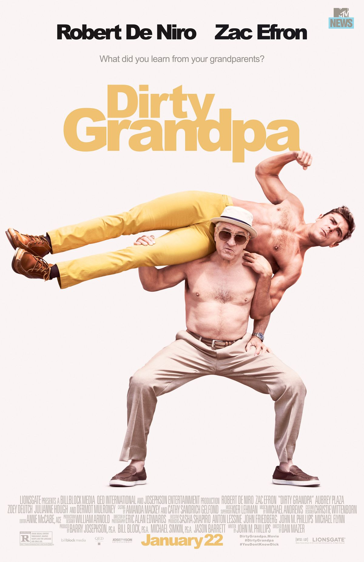 We don't need dirty grandpa
